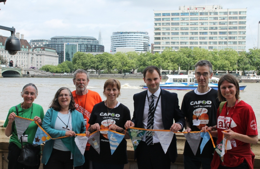Luke Hall MP meets with climate change campaigners