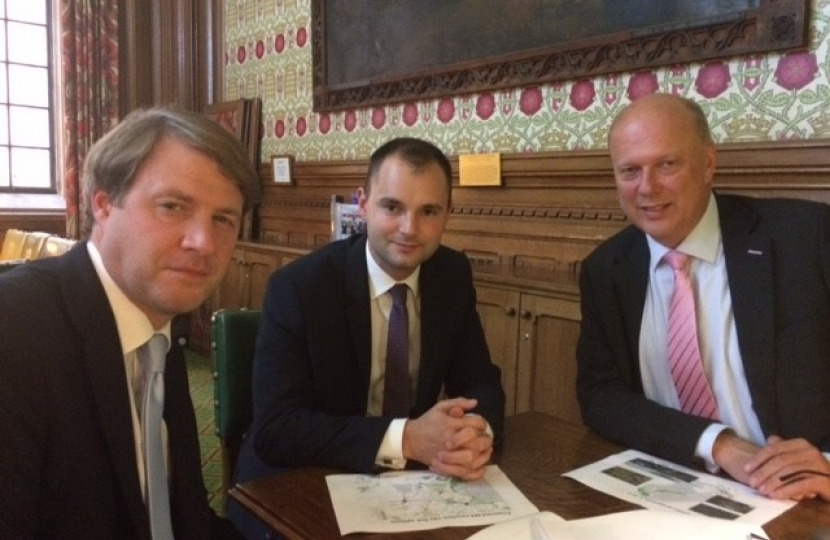 MPs meet with Transport Secretary to share residents' concerns