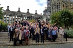 Wick residents at the Tour of Parliament