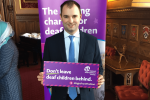 Luke Hall meets the National Deaf Children's Society