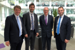 Luke Hall MP, Chris Skidmore MP and Toby Savage meeting with Nick Gibb the schools minister